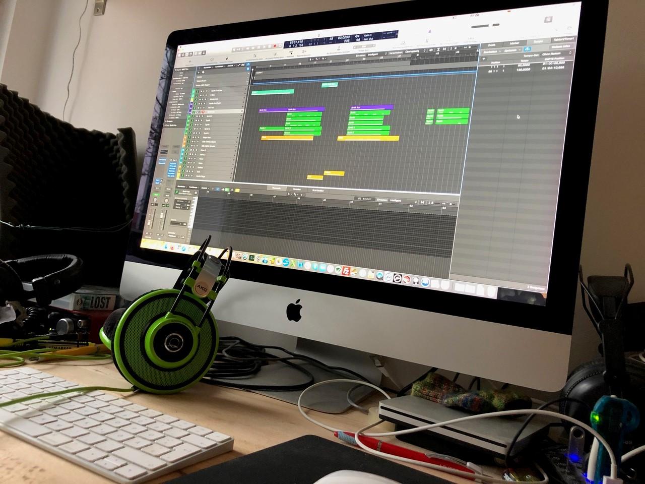creating stock music