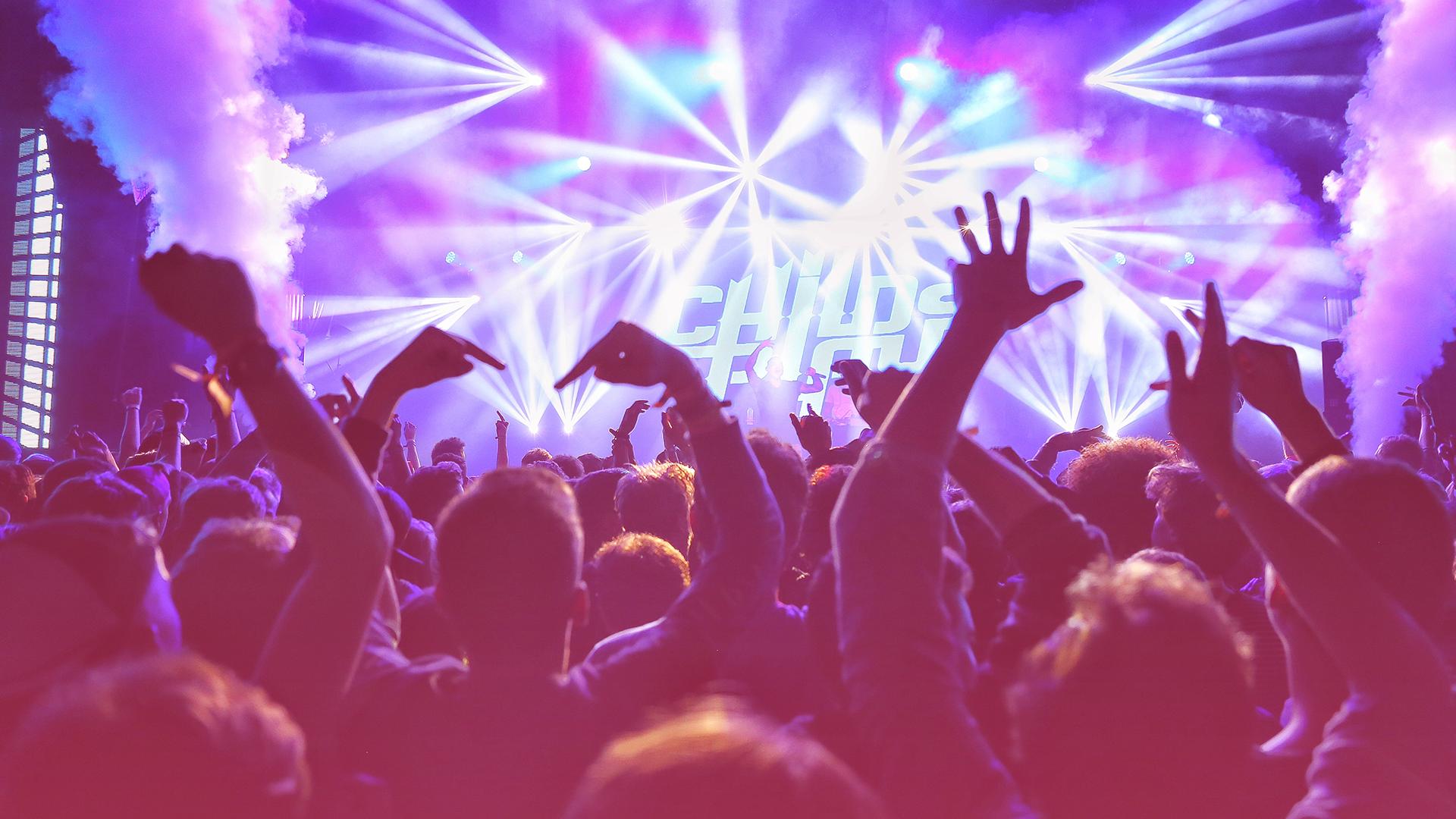 adaptive stock music party create music