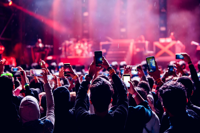 concert stock music