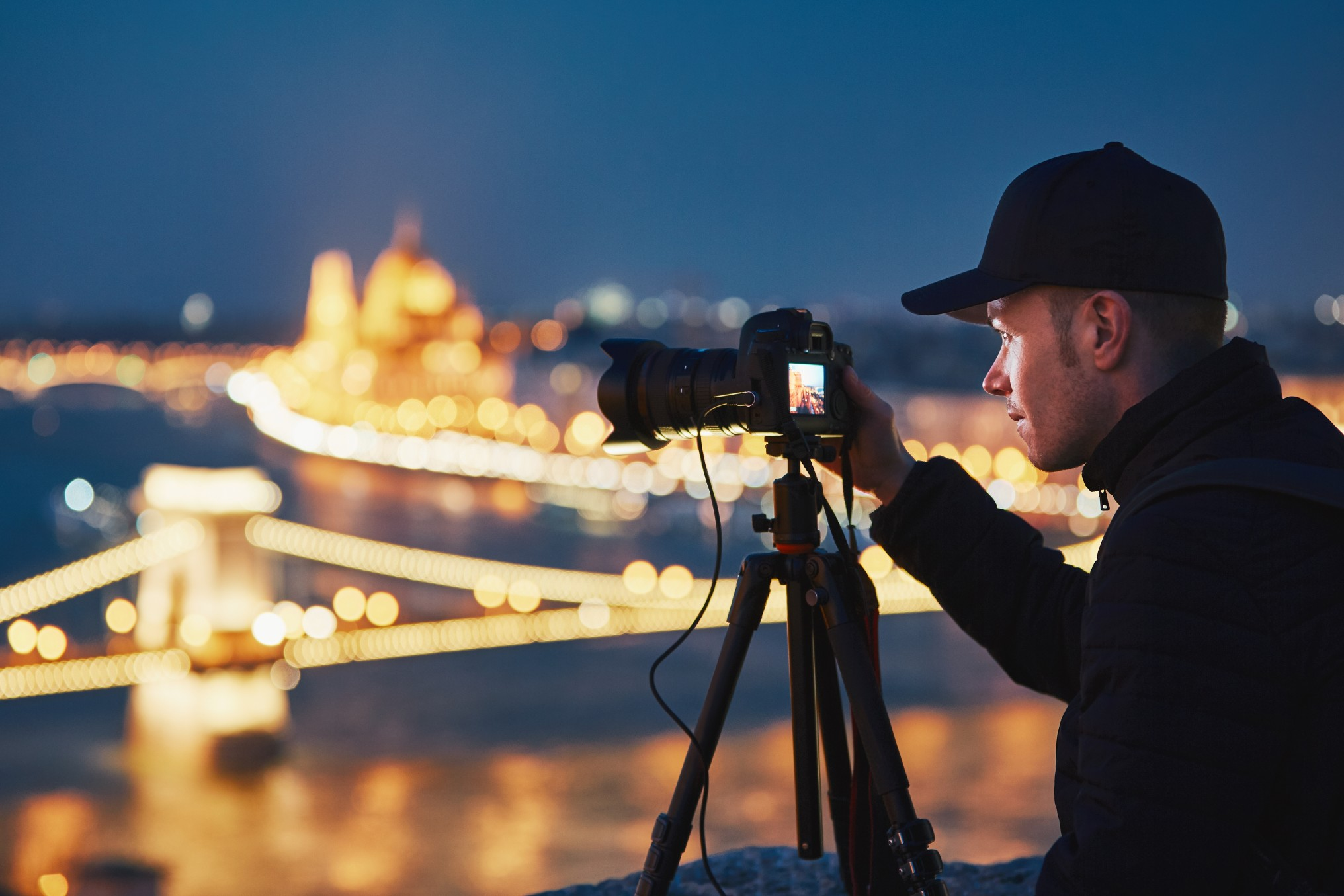 Photographer in Budapest